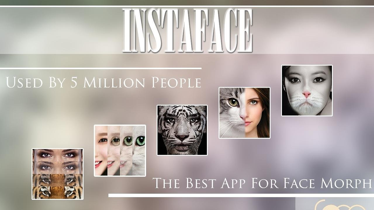 InstaFace:face eyes morph - proměňte přátelé v mazlíčky
