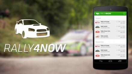 Sledujte výsledky rally na mobilu
