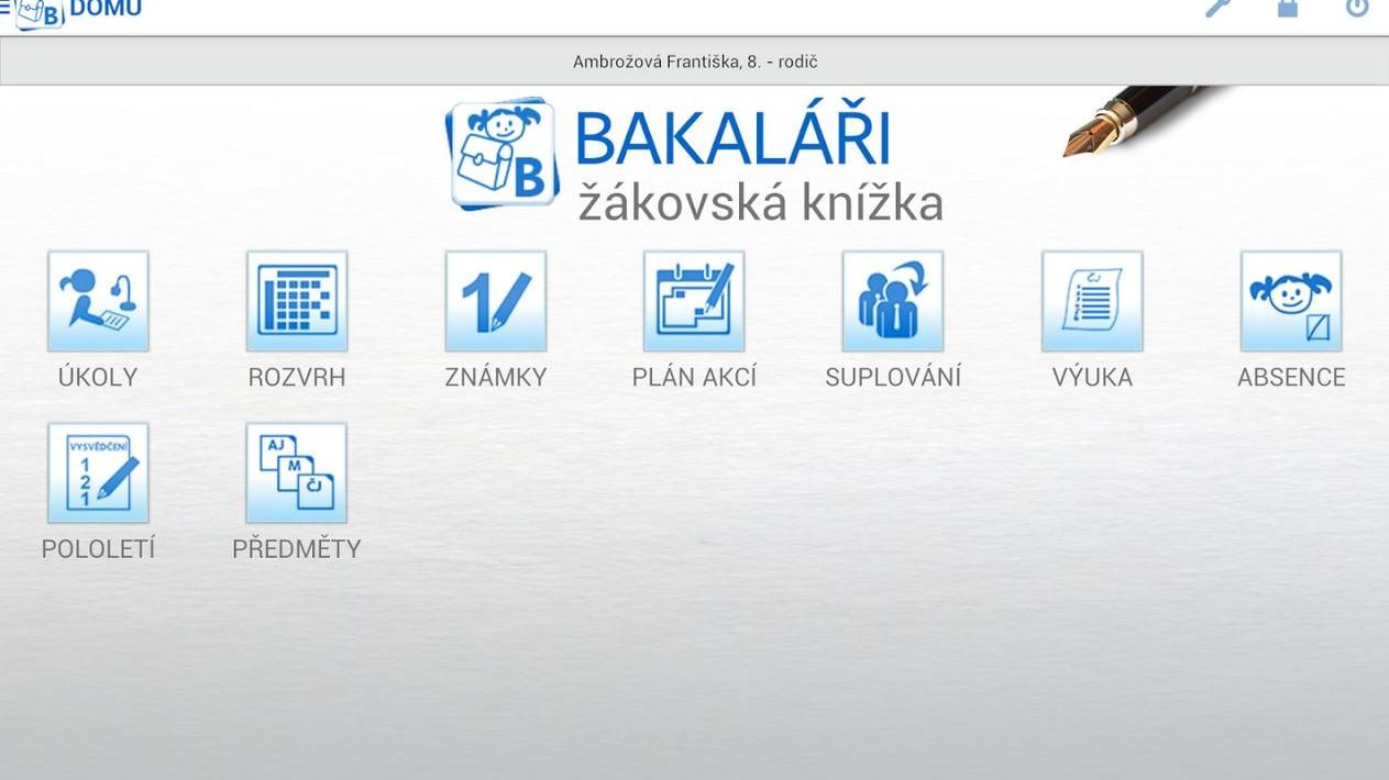 Bakaláři - žákovská knížka 21. století