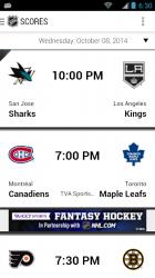 Zápasy NHL