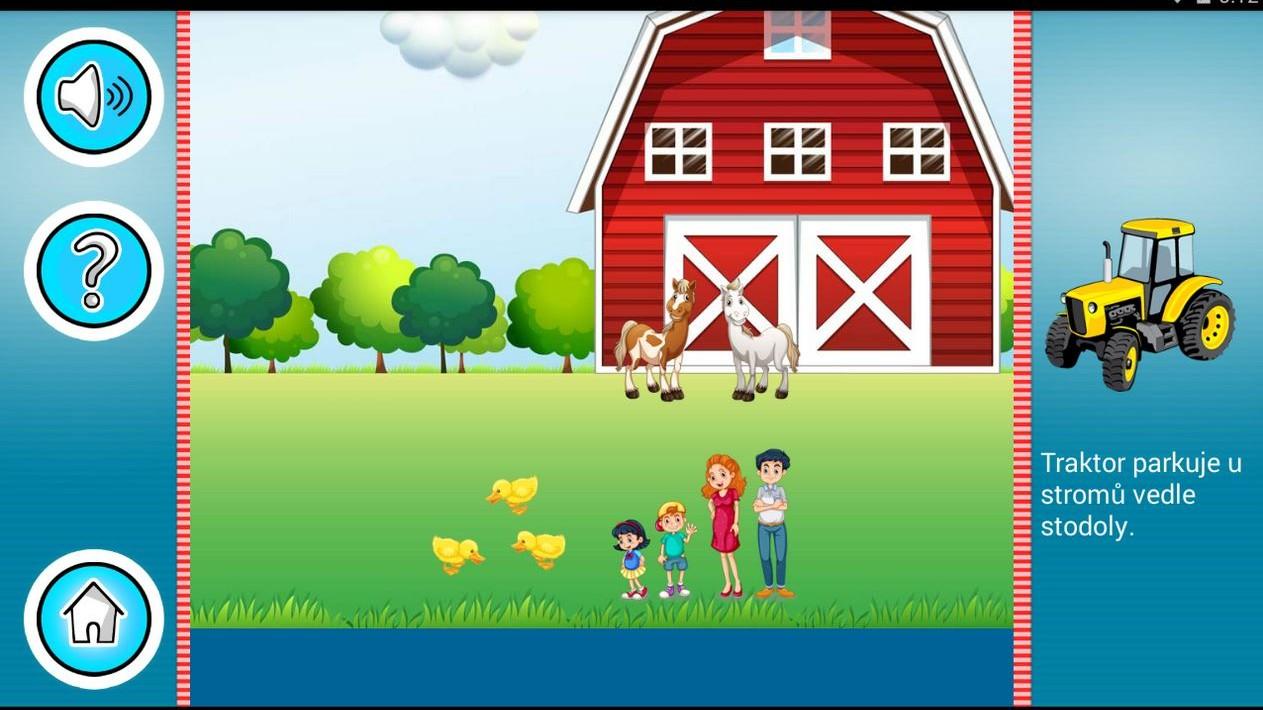 Prostorová orientace - naučná hra pro předškoláky
