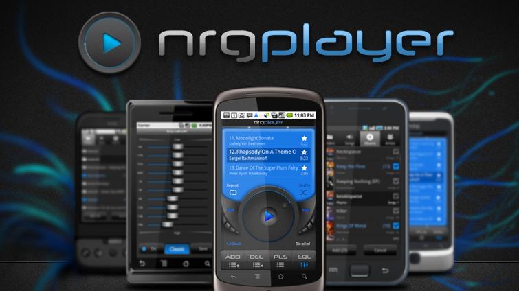 NRGplayer - dobrý hudební přehrávač
