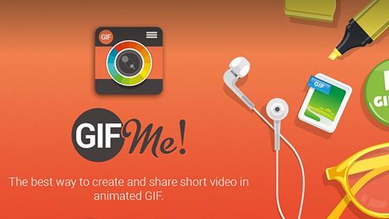 Gif Me! Camera: Točte gif kamerou telefonu