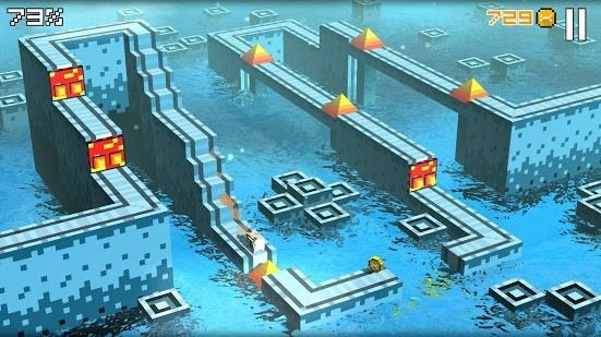 Cliffy Jump - pixely ve 3D
