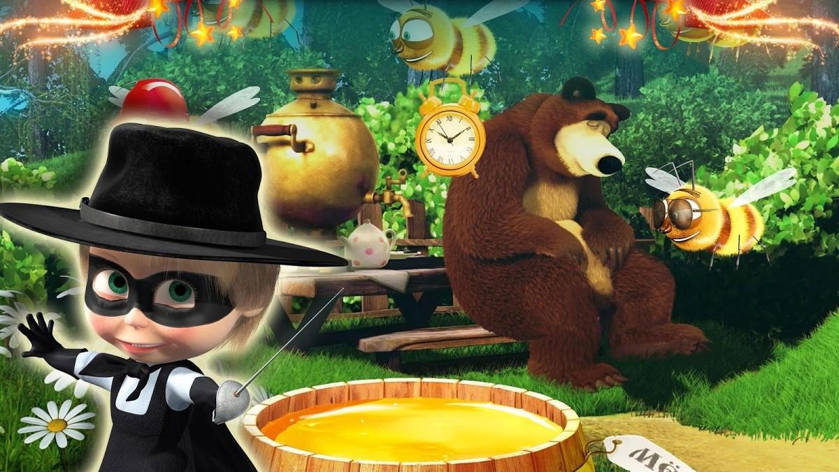 Máša a medvěd: hra pro děti