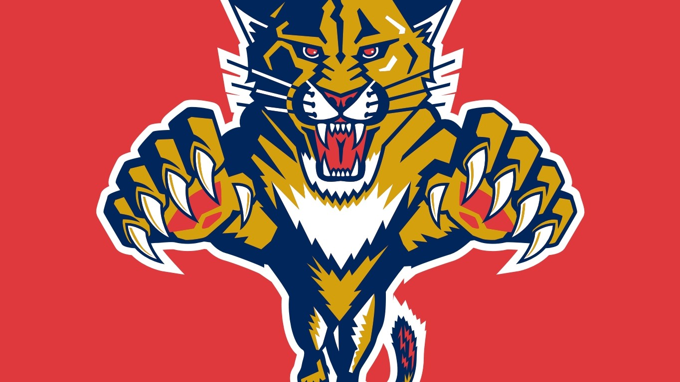 Florida Panthers - hokej, slunce, Jágr