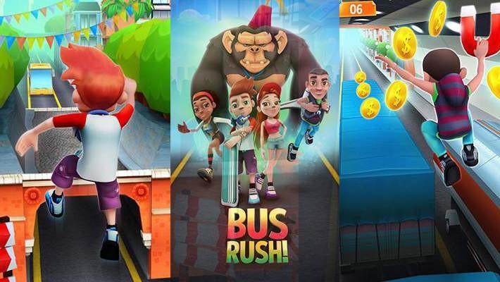 Bus Rush - oddech v doprovodu autobusů