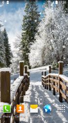 Most v zimě