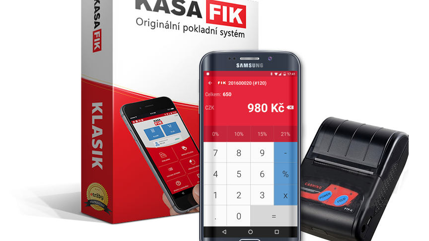 KASA FIK - pokladní systém EET