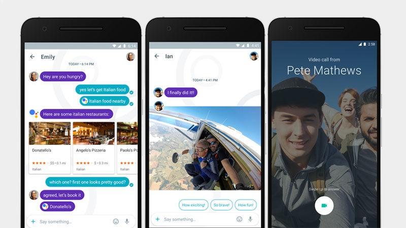 Google Allo - nový messenger od Google