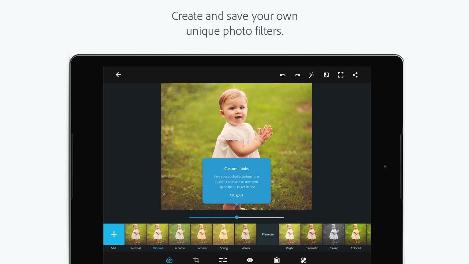 Adobe Photoshop Express - mobilní editace