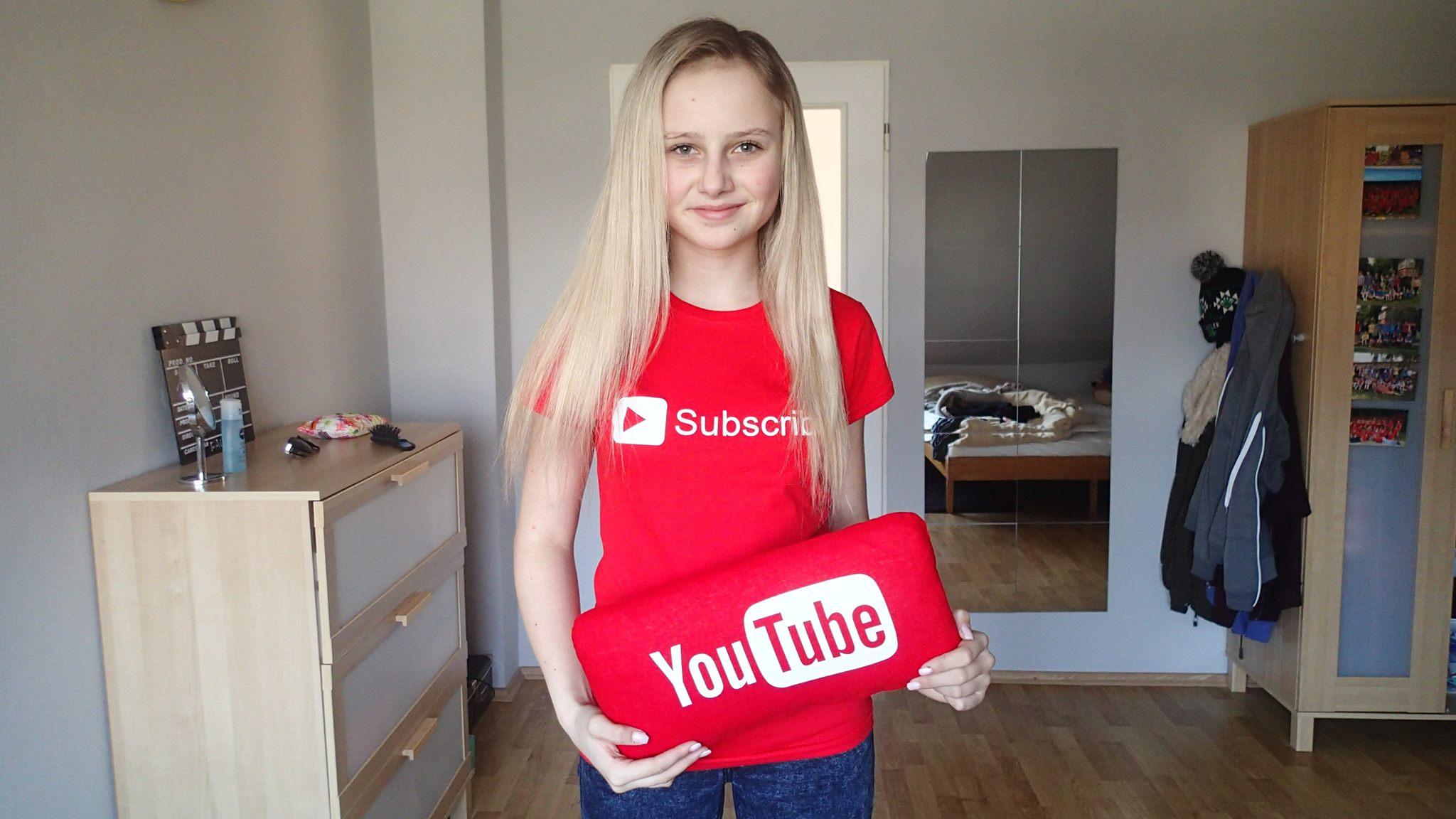 Fallenka - oblíbená youtuberka vždy a všude