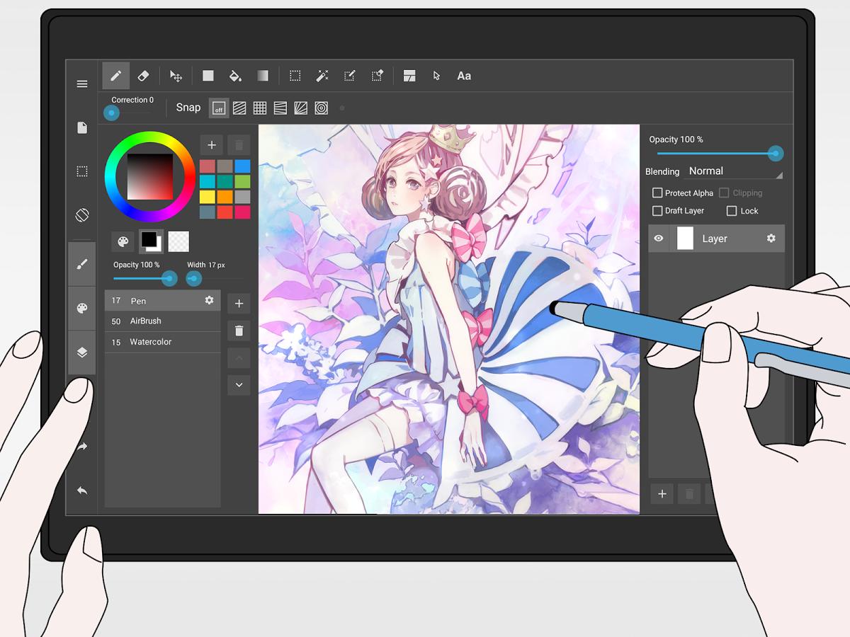 S MediBang Paint můžete vytvářet umělecká díla, jen tak relaxovat a nebo zabavit děti