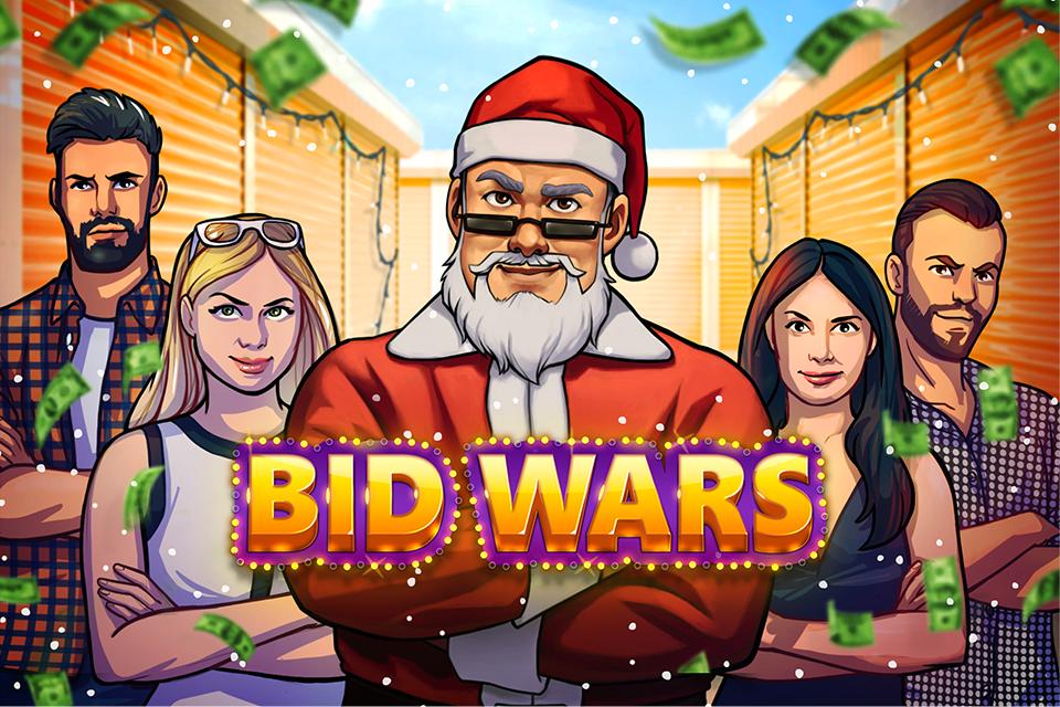 Hra Bid Wars: Staňte se dražitelem skladovacích jednotek jako v oblíbeném pořadu Válka skladů