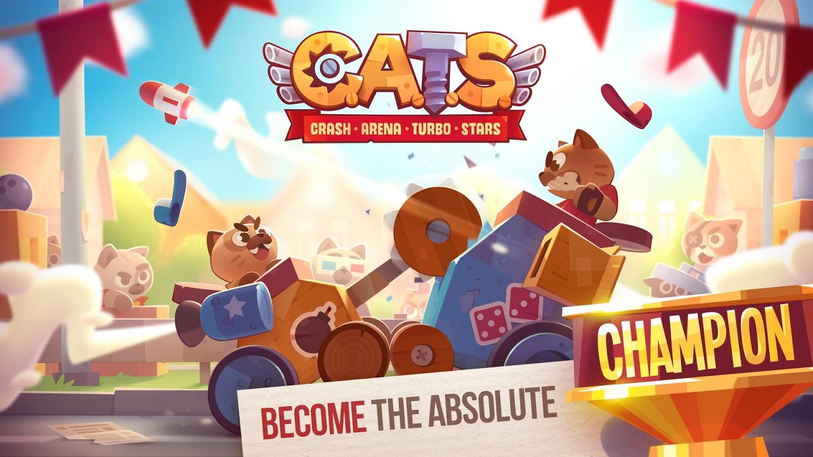 CATS: S šíleného nápadu soubojů koček na ničících se strojích vznikla zábavná a vizuálně velice propracovaná oddechová hra