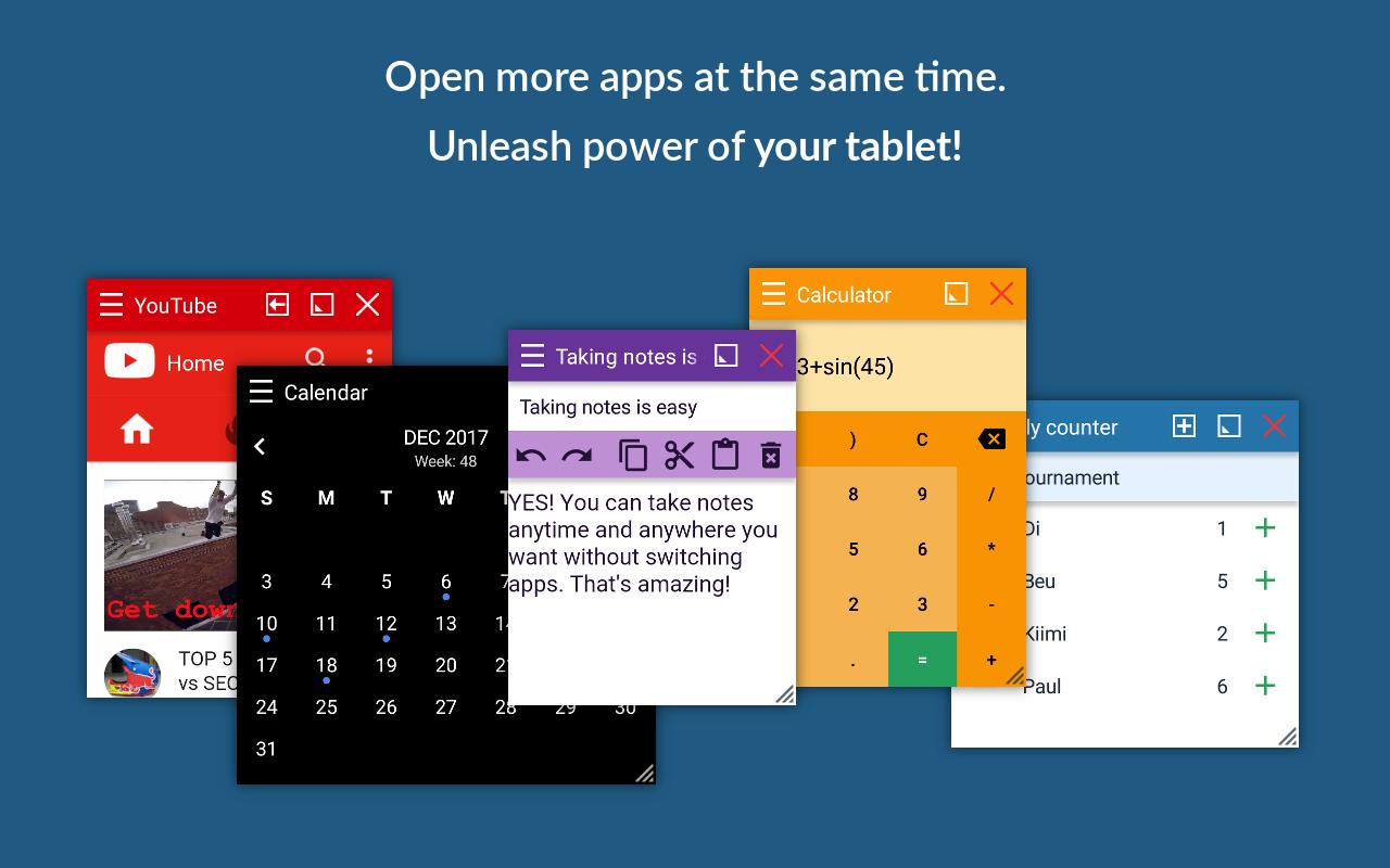 Více okenního systému můžete využívat díky Floating Apps i ve starších Androidech