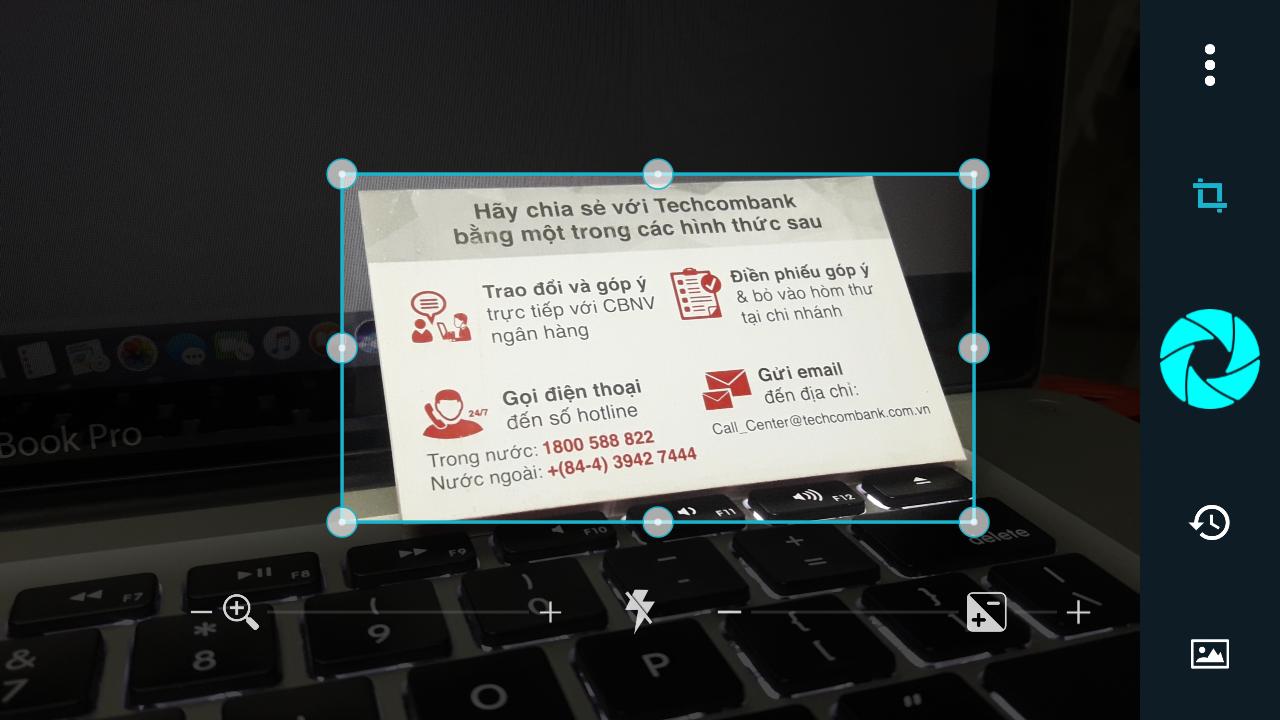 Smart Lens spolehlivě převádí obraz na text a pomáhá v jeho následném zpracování