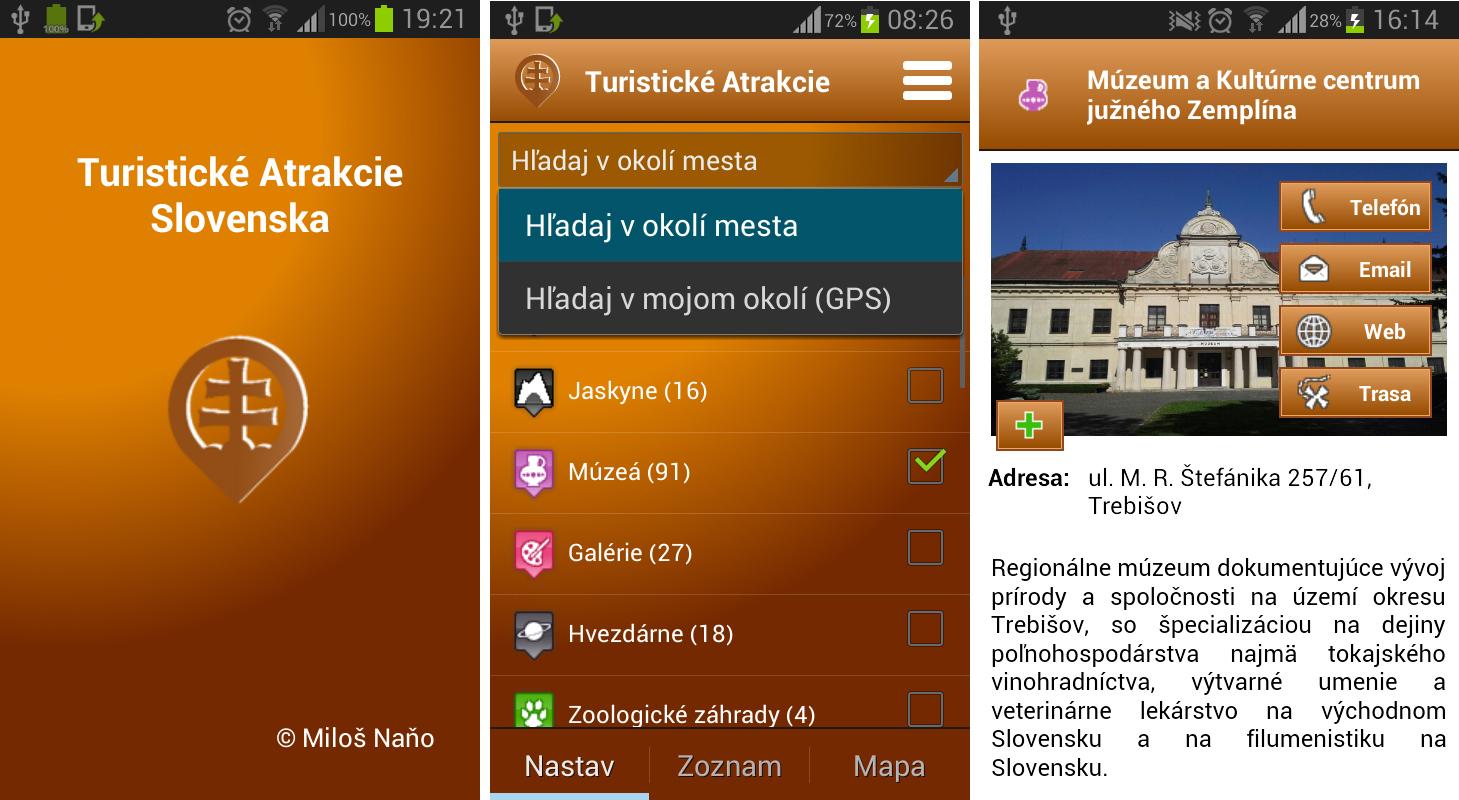 Jedete na dovolenou k sousedům? Aplikace Turistické Atrakcie Slovensko vám najde tamní zajímavá místa