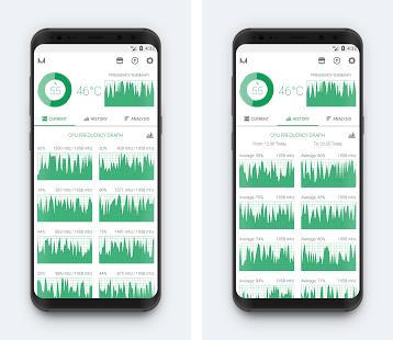 Díky aplikaci CPU Monitoring můžete mít lepší přehled o vnitru vašeho smartphonu