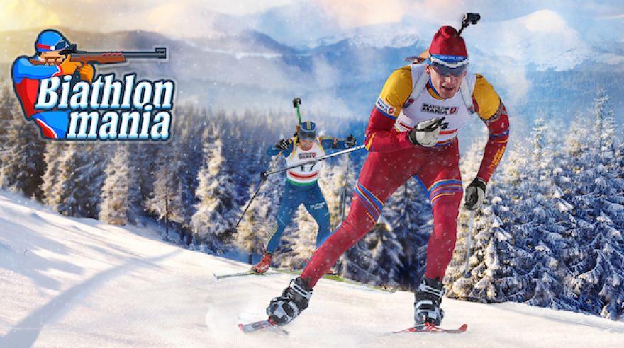 Biatlonová sezona je tady. Letos můžete běžet a střílet i vy! Hra Biathlon Mania sice není žádný simulátor, je ale velice chytlavá