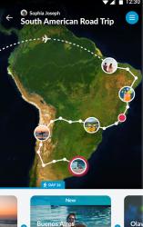 Zaznamenání cesty na mapě