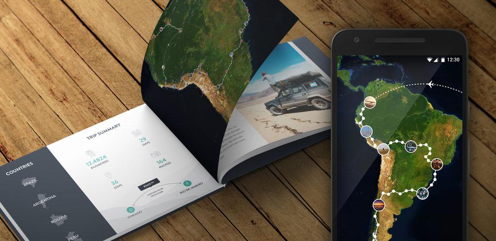 Aplikace Polarsteps je moderním cestovatelským deníkem. Sděluje informace o obrovských vzdálenostech, jakoby to nebylo nic a v tom je ta síla