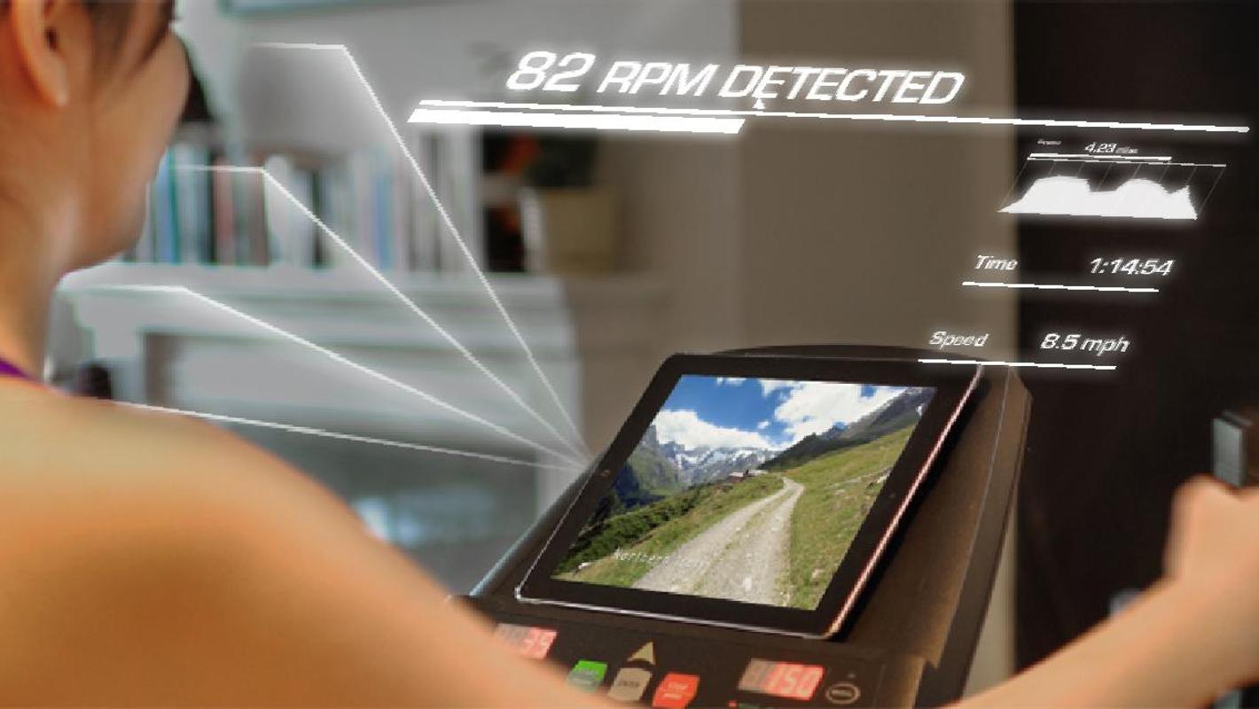 Budoucnost je tady! S BitGym můžete virtuálně proběhnout nebo projet na kole celý svět