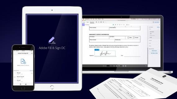 Adobe Fill & Sign umí vyplnit elektronické formuláře i přidat do PDF podpisy a osobní profil. Aplikaci ale kazí podstatný detail