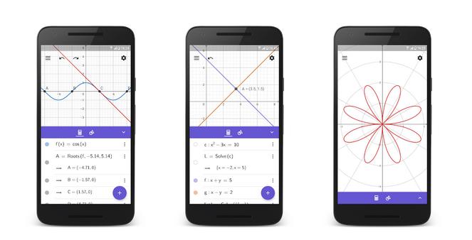 Aplikace GeoGebra není ani tak nástrojem pro opisování jako pro lidi, kteří mají matematiku skutečně rádi. Mohou s ní totiž dokázat velké věci