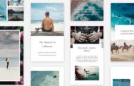 Odlišit se na Instagramu a Facebooku. Aplikace Unfold nabízí šablony pro vkusný a vytříbený design vašich příběhů