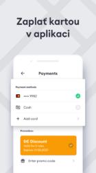 Zadání platební karty