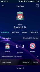 Obrazovka zápasu