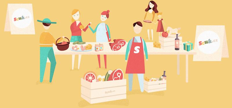Aplikace webu Scuk.cz vás zavede ke kvalitním českým lokálním potravinám. Ještě lepší by ale bylo, kdyby k regionálním
