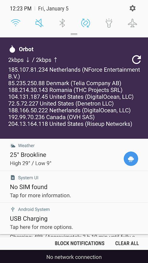 anonymní aplikace pro připojení Android