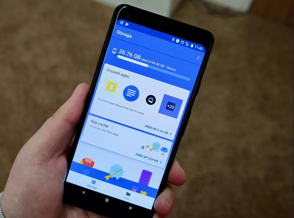 Trápí vás neustále málo místa v mobilu? A zkoušeli jste už aplikaci pro správu souborů od samotného Googlu?
