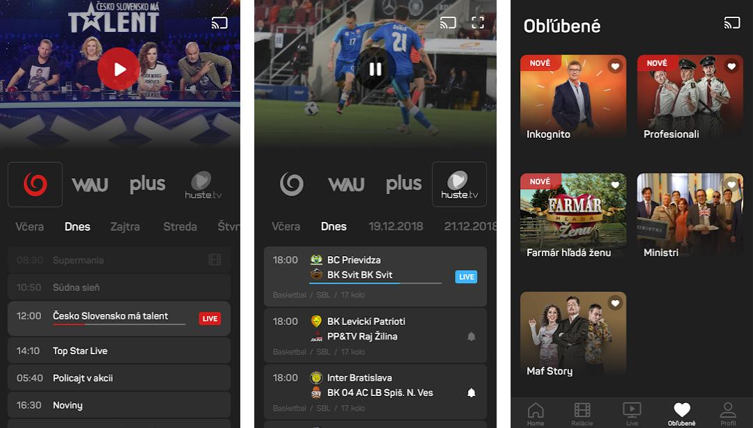 Aplikace TV JOJ se slovenské populární televizi povedla. Najdete v ní program a hlavně videoarchiv