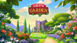 Úvodní obrazovka Lily's Garden