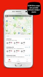 Mapa nabíjecích stanic
