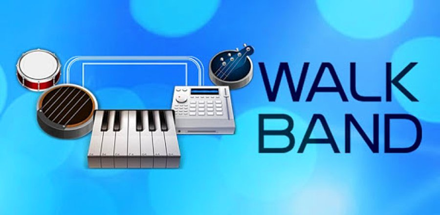 Aplikace Walk Band může skvěle posloužit jako poznámkový blok pro skladatele a producenty