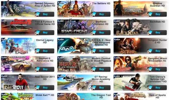 Gameloft připravuje řadu nových her