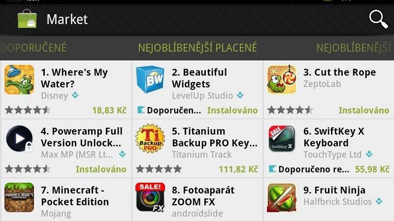 Čeští vývojáři brzy budou moci prodávat aplikace v Android Marketu!