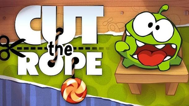 Herní hříčky Cut the Rope zdarma ke stažení