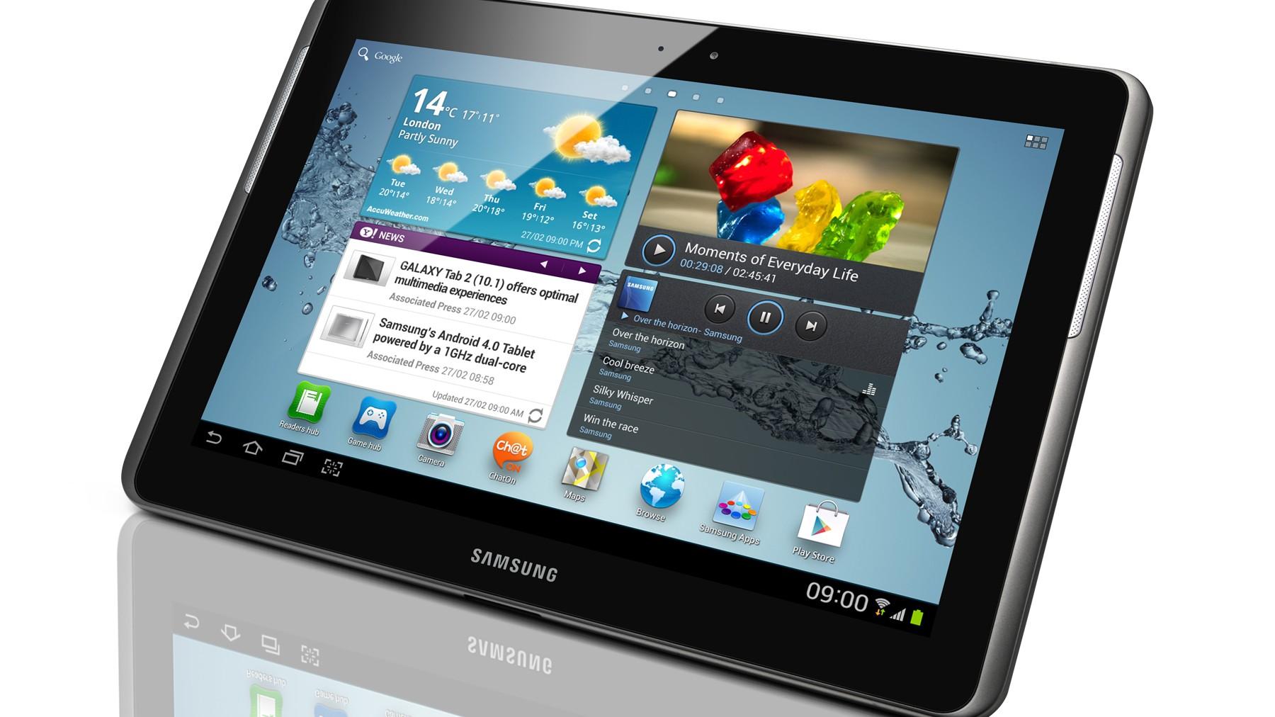 Recenze tabletu: Samsung Galaxy Tab 2 (10.1)