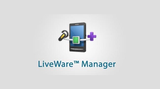 Správce LiveWare™: chytrá práce s příslušenstvím