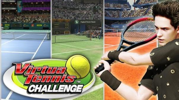 Placené hry: Recenze Virtua Tennis Challenge