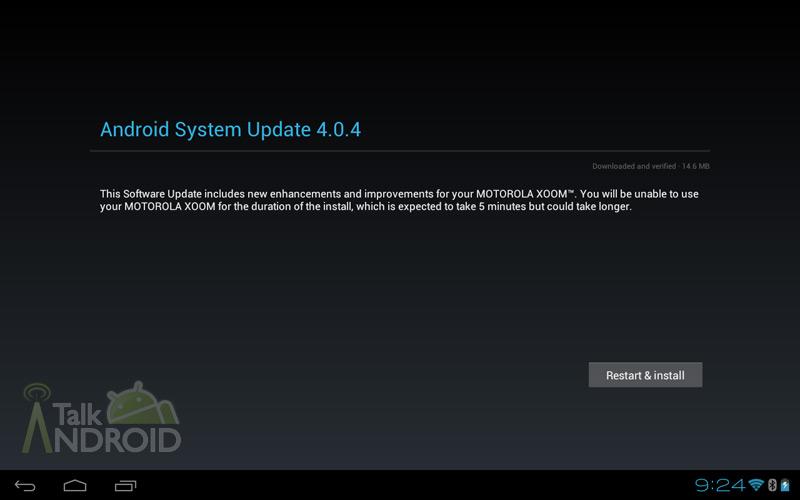 Vyšel oficiální update Motoroly Xoom Wi-Fi na 4.0.4